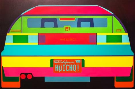 Huicho Le, De Colores, MFA Biennial, Brea Gallery; Photo courtesy of the gallery