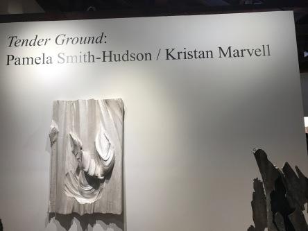 Pamela Smith Hudson and Kristan Marvell, Tender Ground, South Bay Contemporary SoLA; Photo credit Genie Davis
