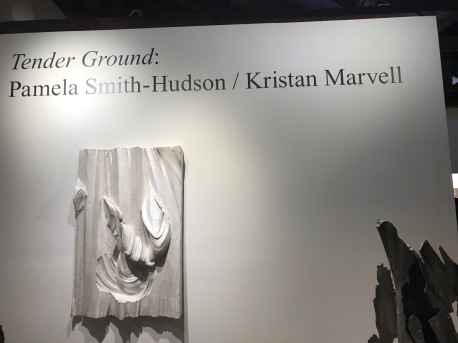 Pamela Smith Hudson and Kristan Marvell, Tender Ground, South Bay Contemporary SoLA; Photo credit Genie Davis