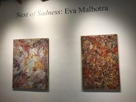Eva Malhotra, Nest of Sadness, South Bay Contemporary SoLA; Photo credit Genie Davis