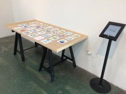 Every (ongoing) Day, Arena 1 Gallery; Photo credit Jody Zellen