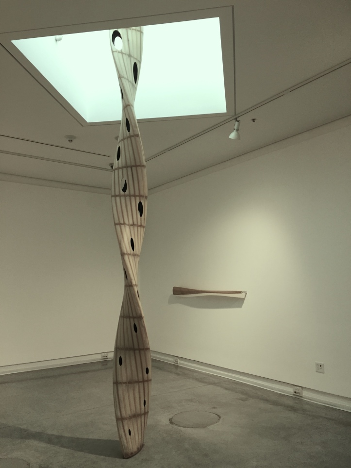 Eric Johnson, Untitled Column, Frank M. Doyle Arts Pavilion; Photo courtesy of the gallery