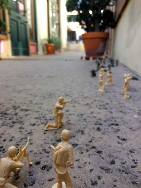 "Nathan Vincent, ""Let's Play War"", Noysky Projects; Photo courtesy of the gallery"