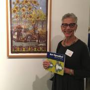 Lorraine Bubar, Art Speaks, Lend a Voice, Arena 1 Gallery; Photo Credit Genie Davis
