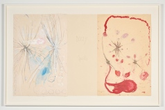 "Louise Bourgeois, ""Have a Little Courage"", The Red Sky, Hauser & Wirth Los Angeles; Photo courtesy Hauser & Wirth"