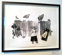 Lynda Levy, Art Speaks, Lend a Voice, Arena 1 Gallery; Photo Credit Kristine Schomaker