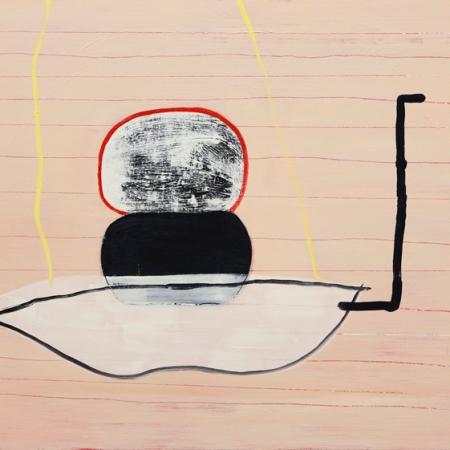 HK Zamani, Untitled #13, Like Ghosts, JAUS; photo courtesy of the gallery