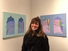 Megan Frances, Art Speaks, Lend a Voice, Arena 1 Gallery; Photo Credit Genie Davis