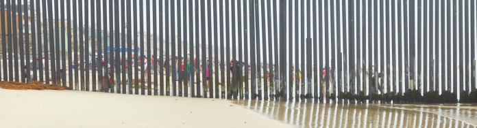 "Richard Misrach, ""Playas De Tijuana #1, San Diego, California"", Marc Selwyn Fine Art; Image courtesy of the gallery"