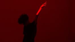 Performance by Rebecca Bruno, PRISMS, Fellows of Contemporary Art; Photo Credit Yann Novak