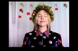bora bora roses 2014 36 seconds. Petra Cortright. Cam Worls. UTA Artist Space. Photo Courtesy UTA