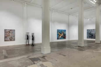 "Mark Bradford, ""Mark Bradford. New Works"", Hauser & Wirth Los Angeles; Photo credit Joshua White"