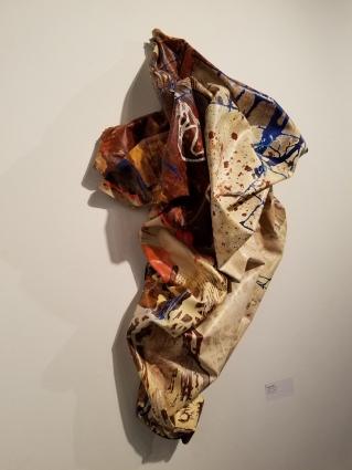 Shelley Heffler, Art Speaks, Lend a Voice, Arena 1 Gallery; Photo Credit Kristine Schomaker