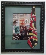 Alexis Smith, Modernism, 2002, Private Lives and Public Affairs, Frederick R. Weisman Museum of Art; Photo courtesy of the gallery