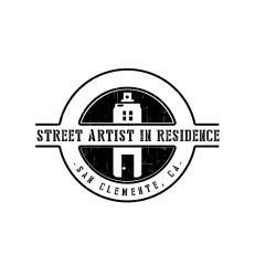 Street Artist in Residence Logo; Photo credit Julie Faith