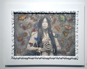Alessia Iannetti: Aurora Consurgens at Corey Helford Gallery. Photo credit: Kristine Schomaker.
