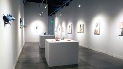 Erika Sanada: Meet Me Halfway at Corey Helford Gallery. Photo credit: Kristine Schomaker.