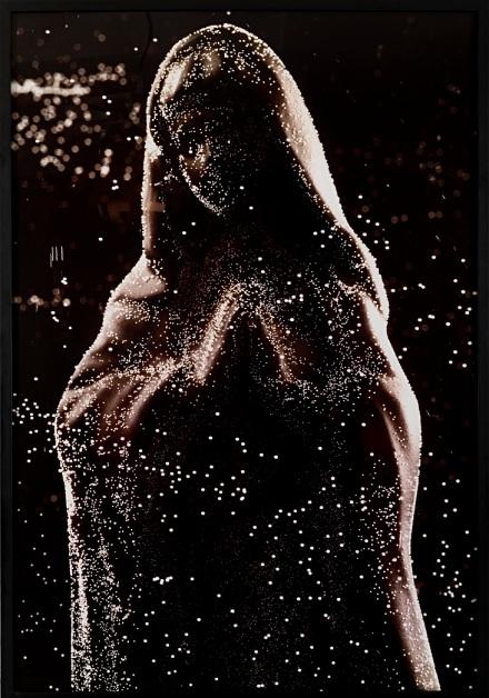 Andres Serrano, Maddona (Black Mary), Nicodim Gallery, Photo courtesy of the gallery.
