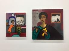 Cassi Namoda, Nicodim Gallery, Photo credit: Shana Nys Dambrot.