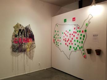 Diane Williams - INcongruence at LAAA/825 Gallery. Photo Credit: Kristine Schomaker.
