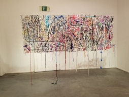 Diane Williams - INcongruence at LAAA/825 Gallery. Photo Credit: Kristine Schomaker.