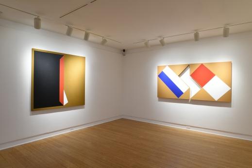 Tony DeLap; A Retrospective, Installation view. Photo Courtesy Laguna Art Museum.