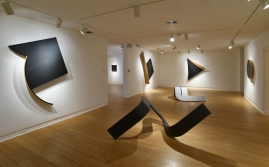 Tony DeLap; A Retrospective, Installation view. Photo Courtesy Laguna Art Museum.