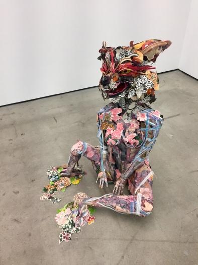Elisabeth Higgins OConnor. Bioperversity, Nicodim Gallery, Photo credit: Shana Nys Dambrot.