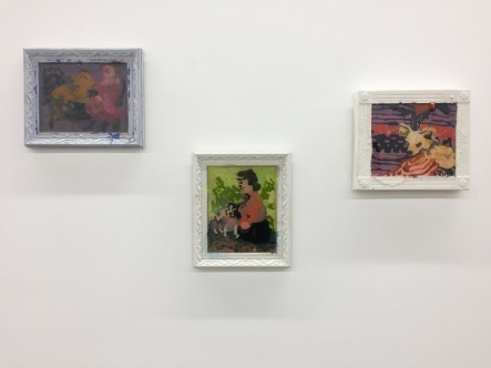 Elizabeth Ferry, Installation view, Nicodim Gallery, Photo credit: Shana Nys Dambrot.