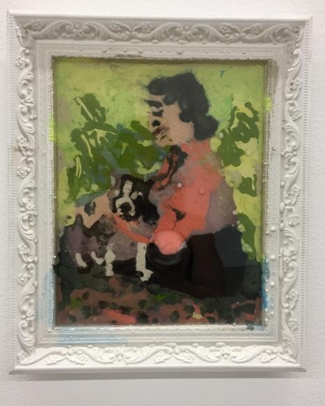 Elizabeth Ferry, Sir Thomas and Helen Keller on the Lawn, Nicodim Gallery, Photo credit: Shana Nys Dambrot.
