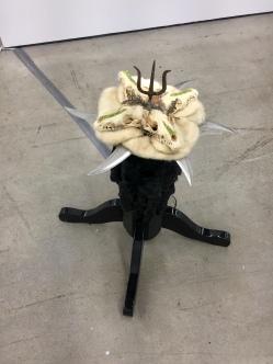 Genesis Breyer, P-Orridge The Poisonous of Biology Frozen Replication, Nicodim Gallery, Photo credit: Shana Nys Dambrot.
