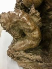 Hugo Wilson, Bulls, Nicodim Gallery. Photo credit: Shana Nys Dambrot.