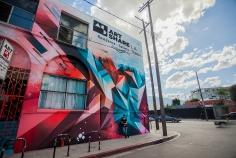 ArtShare LA. Photo courtesy of Mikael B Design inc