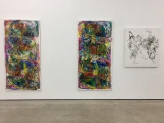 James Krone Parrots and Pierotts- installation view, Nicodim Gallery. Photo credit: Shana Nys Dambrot.