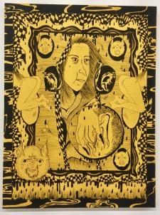 Jamie Felton, Aging Witch Watching Over You, Nicodim Gallery. Photo credit: Shana Nys Dambrot.
