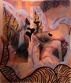 Jessie Mackinson - Swamp Fox, Nicodim Gallery. Photo credit: Shana Nys Dambrot.