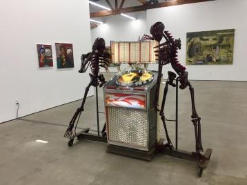 Joel Otterson, Divine Intervention, Nicodim Gallery. Photo credit: Shana Nys Dambrot.