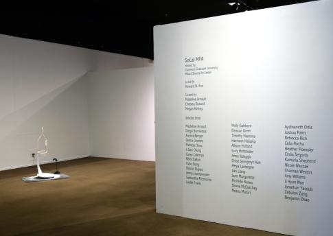 SoCal MFA 2018, Millard Sheets Art Center. Photo Credit: Kristine Schomaker.