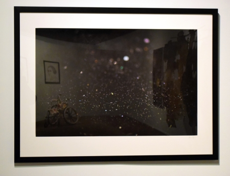Aurora Berger in SoCal MFA 2018, Millard Sheets Art Center. Photo Credit: Kristine Schomaker.