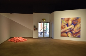 Installation View, SoCal MFA 2018, Millard Sheets Art Center. Photo Credit: Kristine Schomaker.