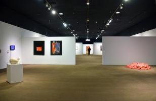 Installation View, SoCal MFA 2018, Millard Sheets Art Center. Photo Credit: Kristine Schomaker.