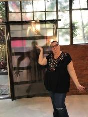 Kristine Schomaker. Brewery Artwalk. Spring 2018. Photo Credit Genie Davis