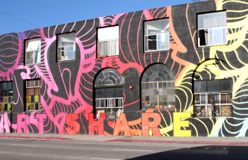 ArtShare LA, history, photo courtesy Art Share LA.