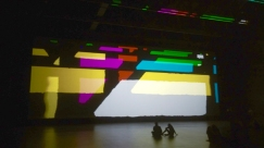 """Olafur Eliasson's """"Reality Projector at Marciano Art Foundation. Photo credit: Lawrence Gipe."""