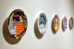 Karen Koblitz at El Camino College Art Gallery. Photo Credit: Jack Kan, ECC Union staff photographer.