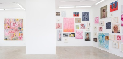 Robert Russell, Moore. More. Moore., Installation view, 2018 at Anat Ebgi. Photo Courtesy of the Gallery.
