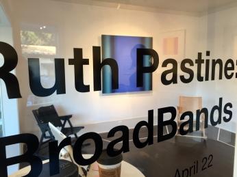 Ruth Pastine , BroadBands at Porch Gallery. Photo Credit: Shana Nys Dambrot.