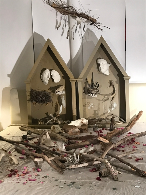 Britney Penouilh, Altar of Alice Eastwood, Mixed media, 2018. Photo courtesy of the artist.