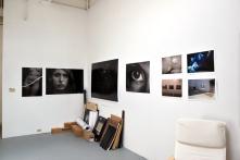 Aurora Berger at CGU Open Studios. Photo credit: Kristine Schomaker.