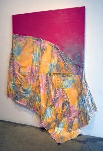 Chelsea Boxwell at CGU Open Studios. Photo credit: Kristine Schomaker.